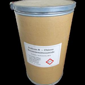 Chloramin B C6H5SO2NClNa.3H20 25%, Trung Quốc, 25kg/thùng